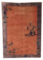 Chinese Rug (Antique -100% Wool)