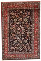 Silk Persian Varamin  Rug (Antique -100% Silk)