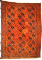 Afghan Ersari Rug circa 1880 (Antique -100% wool)