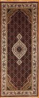 Traditional Indian Tabriz Mahi Rug