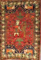 Antique Persian Shiraz Rug (Not for Sale)
