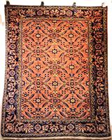Persian Lilihan Rug, circa 1910 (Antique -100% Wool)