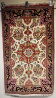 Traditional Persian Qume Rug