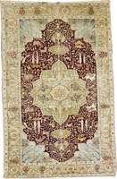 Turkish Rug (Antique -100% Silk)