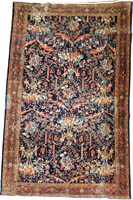 Persian Faraghan Rug (Antique -100% Wool)