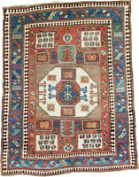 Kazak Karachov Rug (Antique -100% Wool)