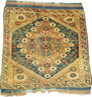 Turkish Rug (Antique -100% Wool)
