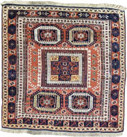 Turkish Bergama Rug (Antique -100% Wool)