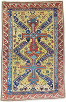 Caucasian Seichur Rug (Antique -100% Wool)