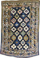 Caucasian Shirvan Rug (Antique -100% Wool)