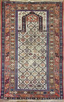 Caucasian Daghestan Rug (Antique -100% Wool)