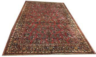 Antique Persian Saruk Rug