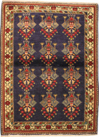 Traditional Persian Abadeh Rug